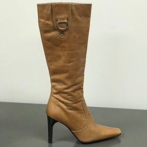 🛍NWT Aldo genuine leather boots size 8